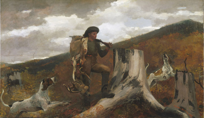 A Huntsman and Dogs